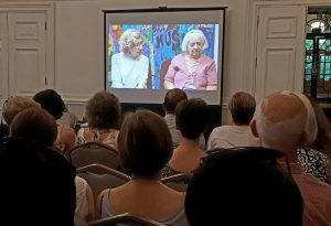 Peggy and Inez film being shown at AGM
